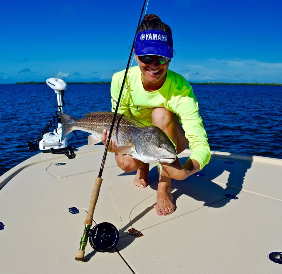 Fly Fishing in Charlotte Harbor-HD - YouTube