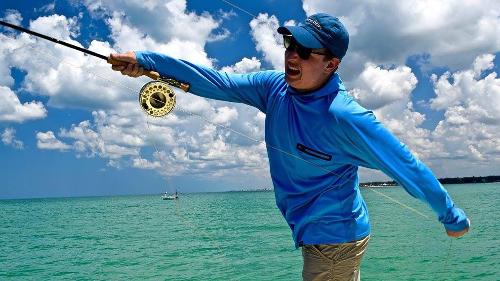 fly fisherman in boca grande